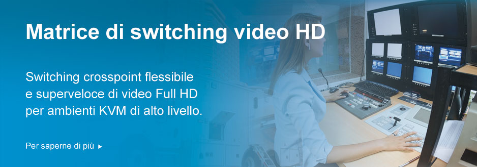 Matrice di switching video HD
