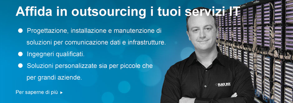 Affida in outsourcing i tuoi servizi IT