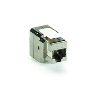 CAT6A Jack - Shielded, Silver