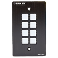 Wallplate Control Panel, RS-232, 8-Button