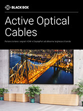 Active Optical Cables Brochure